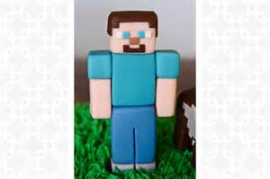 How To Make A Minecraft Steve Out Of Paper - minecraft steve cake topper cakes bakes