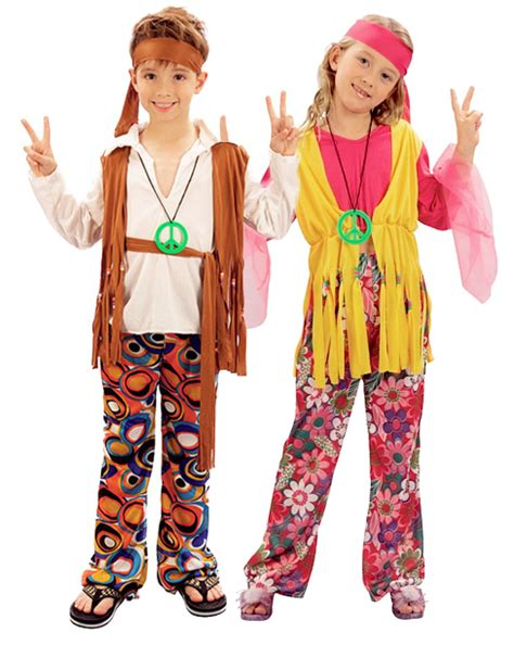 childrens boys hairstyles 70 s hippy kids boys or girls costume 1960s hippie 60s 70s