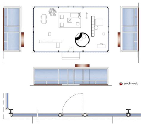 philip johnson glass house plan glass house philip johnson plan quotes