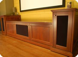 standard home theatre cabinet designs