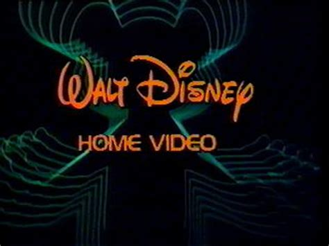 1986 walt disney home video logo aka youtube walt disney studios home entertainment logopedia the
