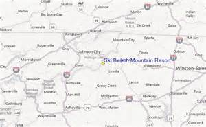 ski beech mountain resort ski resort guide location map