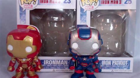 Funko Pop Iron 42 Marvel Iron 3 Berkualitas Marvel S Funko Pop Vinyl Iron 3 42 Iron And