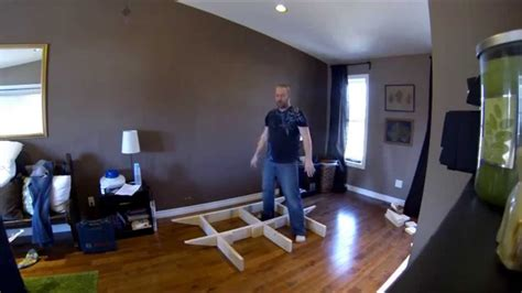 how to make a floating bed floating bed frame part 1 youtube