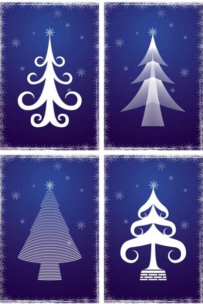 line christmas tree vector free vector in adobe