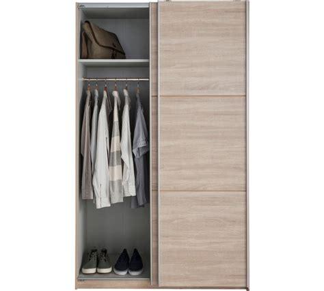 Small Wardrobe Sliding Doors by Buy Hygena Bergen 2 Door Small Sliding Wardrobe Oak