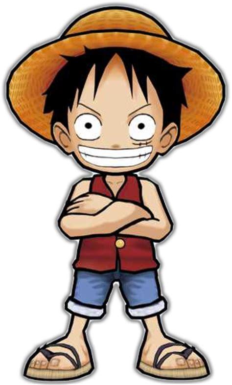 Kaos Luffy Chibi One one grand battle x para nintendo 3ds 2014