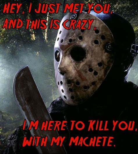 Jason Voorhees Meme - made a jason meme jason voorhees pinterest songs
