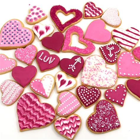 valentines decorated cookies tattap boto valentines day cookies
