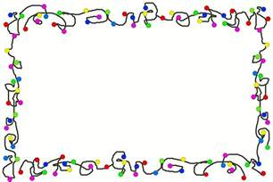 cartoon christmas lights border free stock photo public