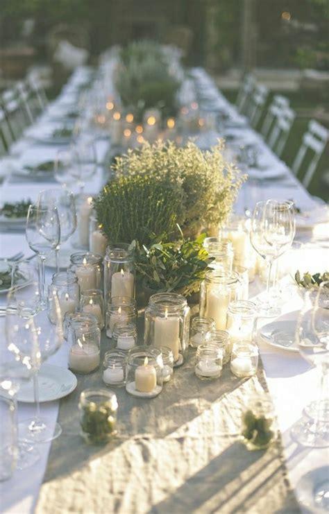 Comment décorer le centre de table mariage?