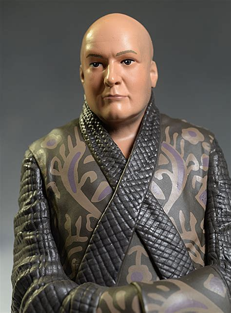 game of thrones eunuch actor review and photos of dark horse game of thrones varys figure