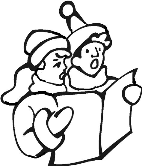 holiday music coloring pages free coloring pages of christmas carolers