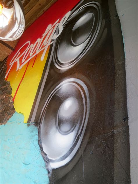 speaker graffiti art mural graffiti street art murals