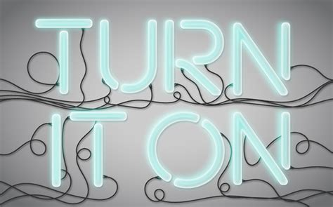 vector neon tutorial turn it on neon light vector text treatment vectips