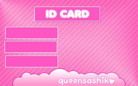 Blank Id Card Id Card Kosong id card kosong empty by queensashiko on deviantart