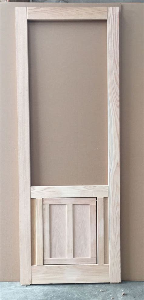 The 25 Best Ideas About Wood Screen Door On Pinterest Exterior Door With Built In Screen