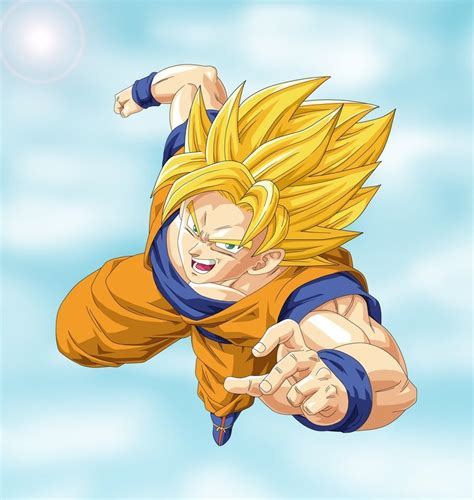 Saiyan Goku z wallpapers goku saiyan 1