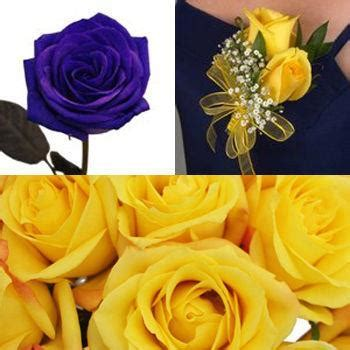 Classic Rose Yellow Boutonniere and Corsage Wedding Package