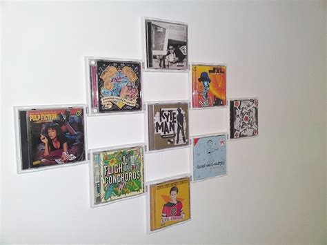 Great Idea For Cheap Wall Album Covers In 14 Best Ideas About Cd Cover Wall On