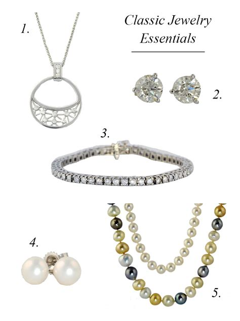 jewelry essentials the five classic jewelry essentials michael