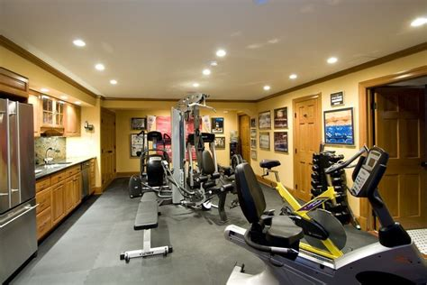 Design Home Weight Room 5 Amazing Basement Ideas