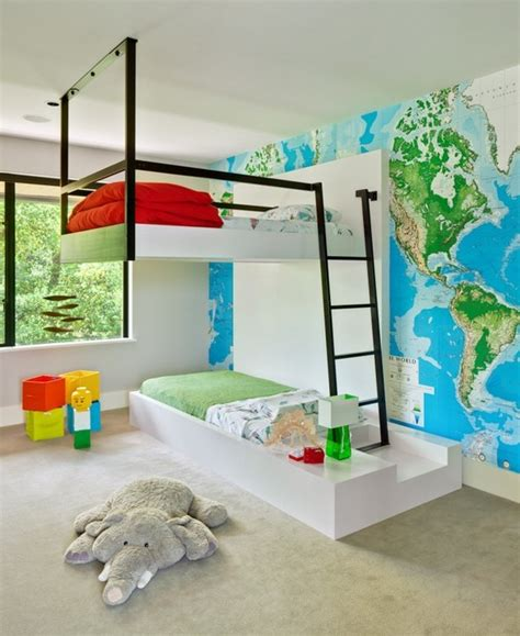 Cool Wall Shelves cool bunk beds the best kids room furniture for your