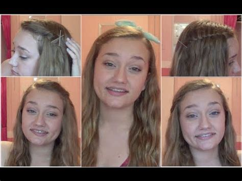 hairstyles bangs out of face 4 hairstyles to keep your bangs out of your face youtube