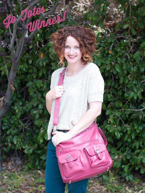 Jo Totes Giveaway - jo totes giveaway winner lisa leonard designs blog