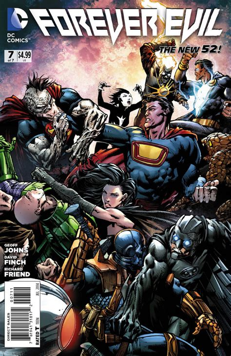 Pdf Forever Evil Geoff Johns by Forever Evil 7 By Geoff Johns And David Finch Review