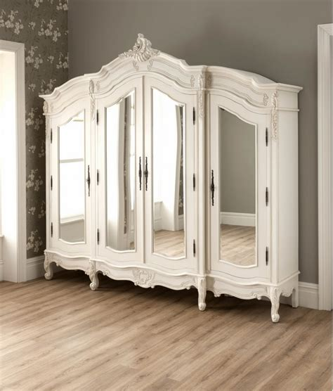 bedroom set with wardrobe wardrobe armoire 25 shabby chic ideas for a romantic bedroom