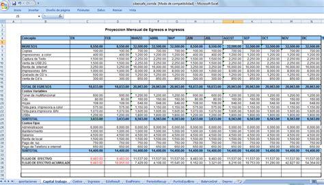 hoja de ingresos y gastos formato de registro de ingresos y egresos