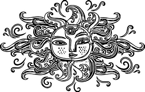 aztec coloring pages aztec sun symbol coloring page wecoloringpage