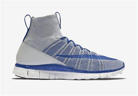 Nike Free Flyknit Mercurial nike free flyknit mercurial superfly wolf grey sneaker bar detroit