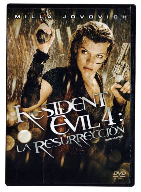 milla jovovich peliculas resident evil 4 la resurreccion milla jovovich pelicula