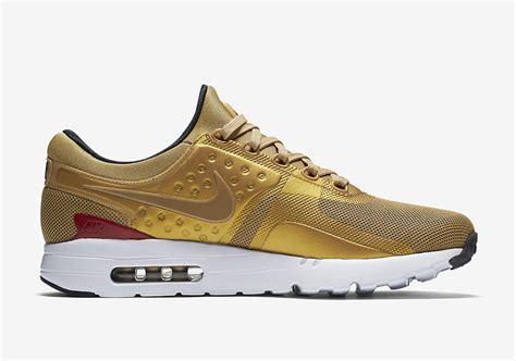 sneakers releases nike air max zero metallic gold 789695 700 sneaker bar