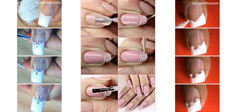 nail art latest tutorial easy bridal wedding nail art tutorials for girls 2014