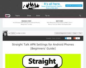talk apn settings android talk apn settings for android phones beginners guide talk
