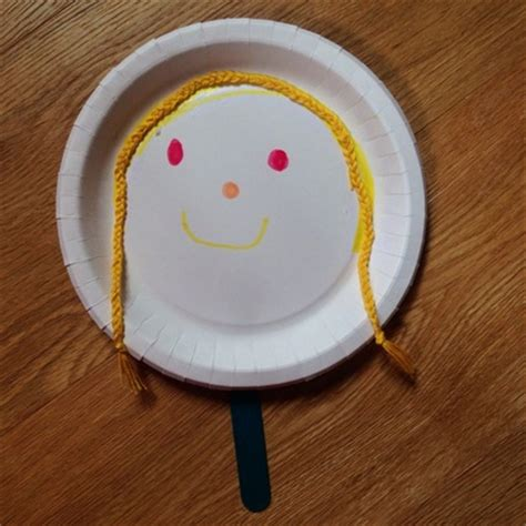 How To Make A Paper Plate Puppet - paper plate puppets my kid craft