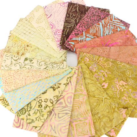 Pre Sewn Patchwork Fabric - fabric quarter bundle cotton craft pre cut quilting