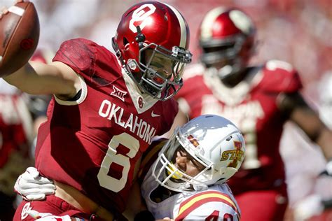 marcel spears nfl draft ou football baker mayfield gets in twitter spat with