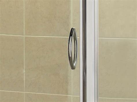 April Identiti2 Sliding Shower Door 1000mm Silver Sliding Shower Doors 1000mm