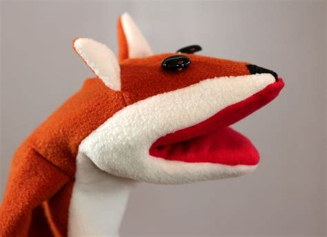 animal sock puppet patterns how to make a fox puppet sewing patterns kid and make your