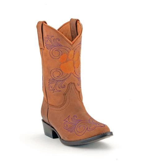 clemson cowboy boots gameday boots s clemson boot
