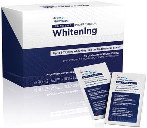 crest whitestrips supreme crest 3d whitestrips supreme professional strength cali