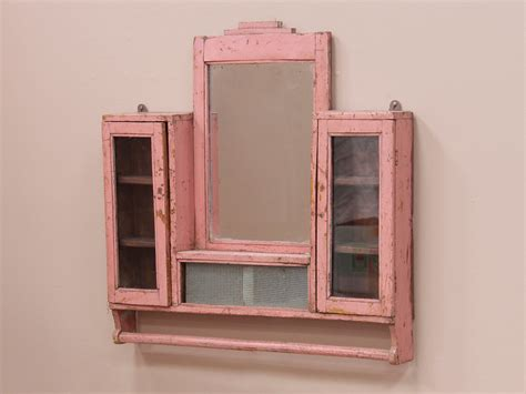 wall cabinet with mirror pink wall mirror cabinet sold scaramanga