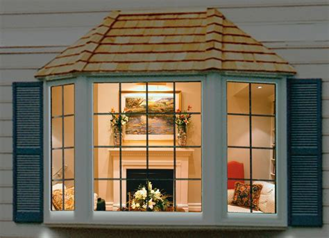 bay window decorating ideas outside bay window