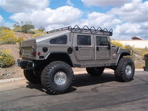 hummer h1 lift hummer h1 6 quot suspension lift kit by j auston fabrication