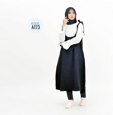 Big Sale Baju Atasan Ryu Top Blouse Tunik Baju Muslim Blus Muslim Ter tunic a173 baju style ootd
