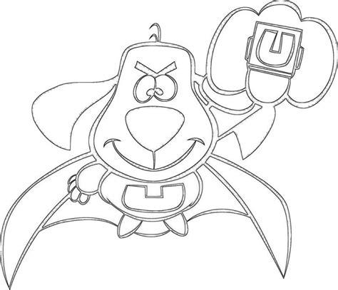 underdog cartoon coloring pages www pixshark com